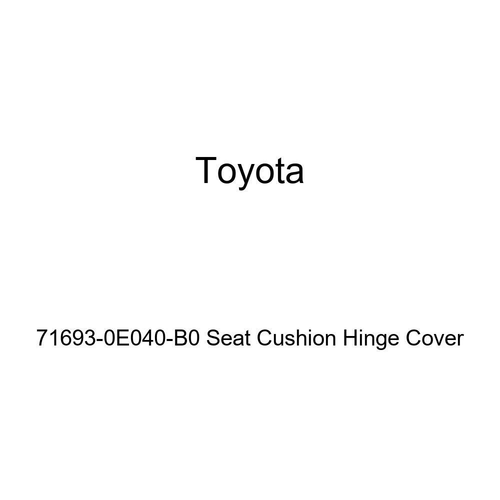 TOYOTA Genuine 71693-0E040-B0 Seat Cushion Hinge Cover