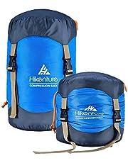 Hikenture Sleeping Bag Stuff Sack,Tear- Resistant Nylon Sleeping Bag Compression Sack, 10L/14L/20L/30L Water-Resistant Compression Bag,Outdoor Storage Bag for Backpacking,Hiking,Camping and Travel