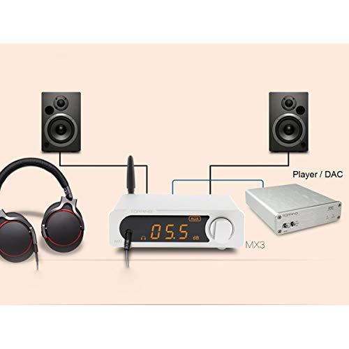 Topping MX3 - Amplificador de Audio Digital con Receptor Bluetooth ...