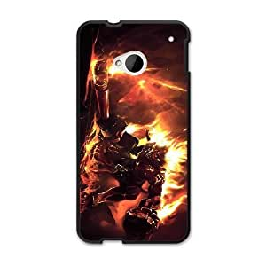 The best gift for Halloween and ChristmasHTC One M7 Cell Phone Case Black league of legends top hero Volcanic Wukong RPR4003420