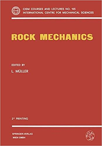 Rock Mechanics: Course Held At The Department Of Mechanics Of Solids (Cism International Centre For Mechanical Sciences)