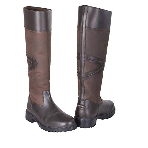 Bitter Long Rundle Chocolate Boot Leather Toggi Country xBX5wAqgq