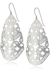 Argento Vivo Silver-Tone Sedona Kite Drop Earrings