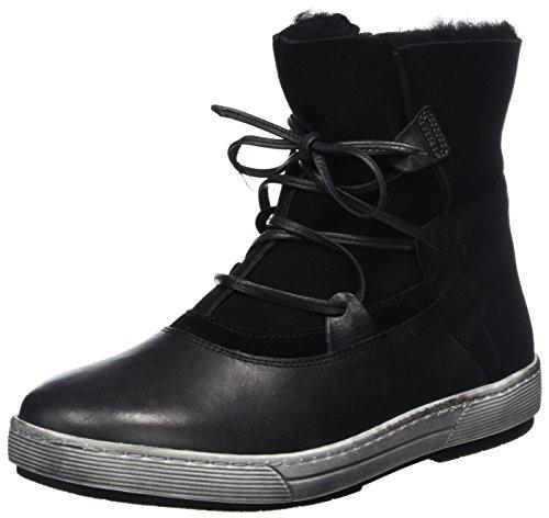 Ganter Helena-h, WoMen Ankle Boots Schwarz (Schwarz)