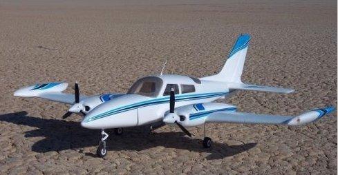 4pcs 8x6 Inch 3-Blade Nylon Propeller for Dynam Catalina Cessna 310 C47 Skytrain