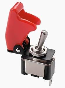 """Sumex 2404280 - Interruptor Tuning """"Top - Gun"""", Color Rojo"""