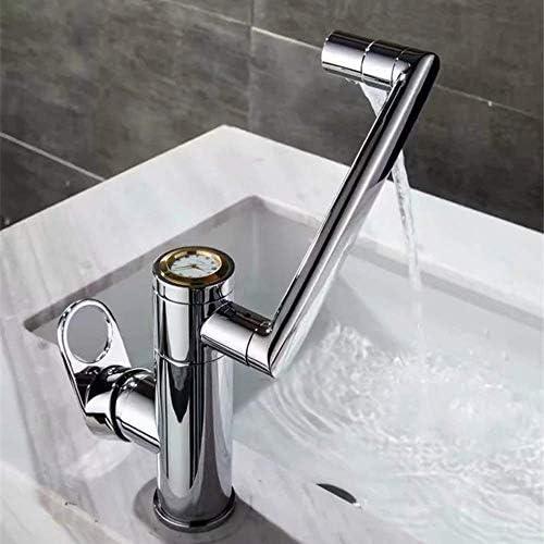 ZJN-JN 蛇口 銀メッキ銅の洗面化粧台の蛇口クリエイティブゴールドホームホテルホットとコールドの調整回転可能な蛇口をダイヤル美しい実用 台付