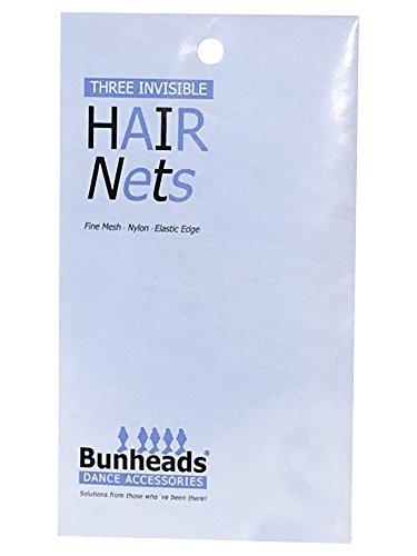 bunheads-hair-nets-for-women-blonde-2-pack