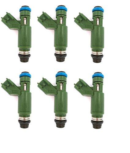 Re-Manufactured OEM Denso 1X43-AB Fuel Injectors for 2002-2008 Jaguar X-Type 2.5L, 3.0L Set of 6 by CAP