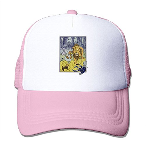 WYF Men&women Cowardly Lion Vintage Illustration Outdoor Hip Hop Hip Hop Cotton Mesh Caps Hats Adjustable ()