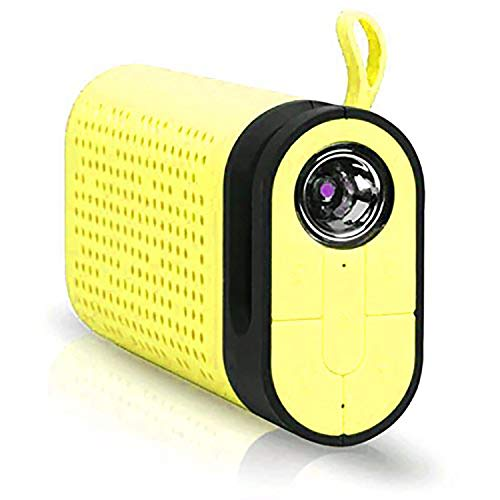 Gadgets Appliances LHR TG06 Portable Wireless Bluetooth Speaker and 4400 mAh Power Bank  Yellow