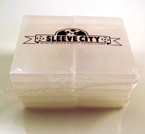 Clear Cassette Polybox (10 Pack) (Cassette Tape Jewel Case)