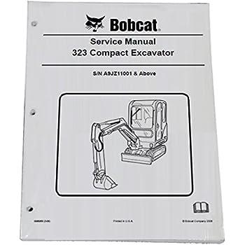 Amazon com: Bobcat 325, 328 Compact Excavator Repair