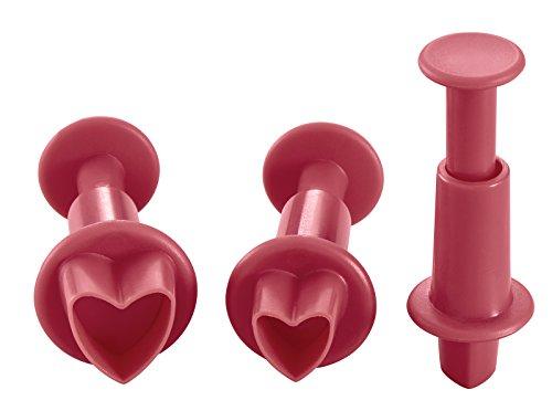 heart shaped fondant cutter - 6