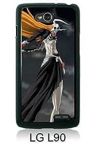 Bleach Ichigo Sword Hollow Wave Weapons Black New Style Custom LG L90 Cover Case