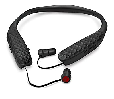 Lucid Audio AMPED HearBand Sound Amplifying Bluetooth Neckband Earbud Headphones
