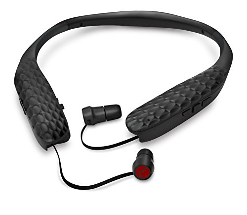 Lucid Audio Amped HearBand Sound Amplifying Bluetooth Neckband Earbud Headphones - Black, Standard