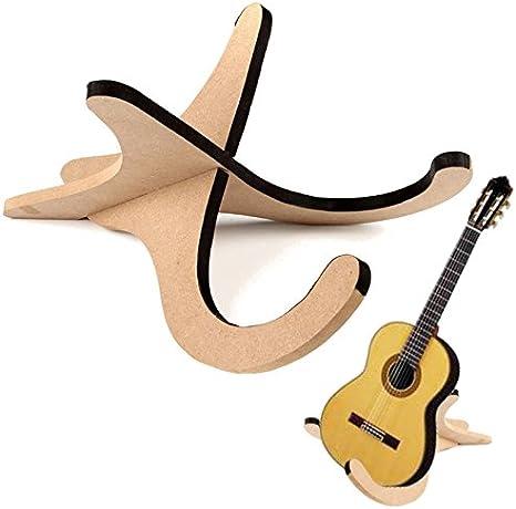 allcaca – Soporte para guitarra de madera ukelele Stands sólido ...