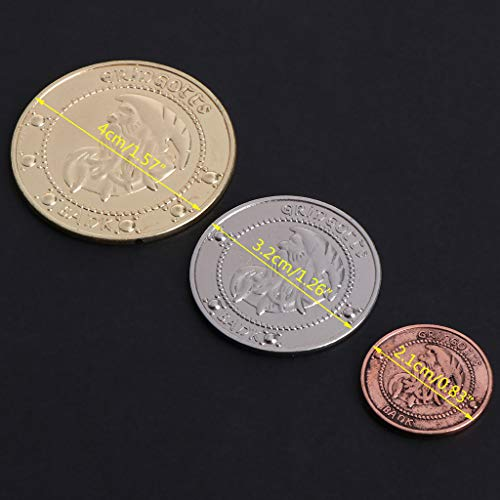 Coins & Tokens Baoyl Gold Plated Saudi Arabia Commemorative