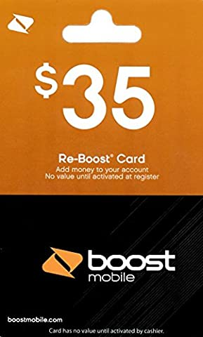 Boost Mobile $35 Gift Card