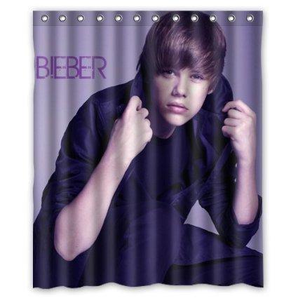 LOVELIFE Justin Bieber Custom Fabric Shower Curtain 60x72 Inch Bath Curtains Amazonca Sports Outdoors