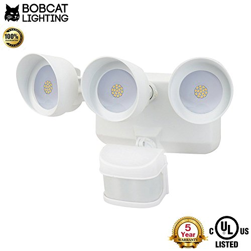 Lithonia Motion Sensor Flood Light - 9