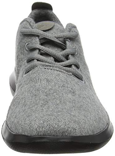 anthrazit Wool Grau Lace Shi 8882380 Sneaker Damen Chung Duflerino ntfS0xwp6q