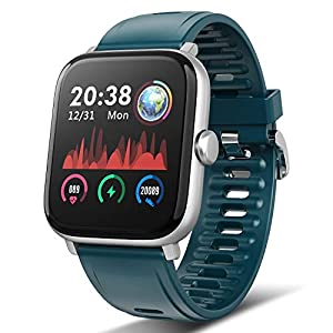 TagoBee Montre Connectée Femmes Homme Pas Cher Bracelets Etanche IP67 Montre Intelligente Smartwatch de 1.54Écran…