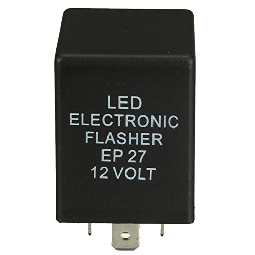 Ils  –   12  V 5  Pin EP27  LED Flasher Relay for Turn Signal Decoder Load Equalizer I LOVE SHOPPING