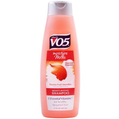 - ALBERTO VO5 MOISTURE MILK PASSION FRUIT SMOOTHIE SHAMPOO (PACK OF 3) by Alberto VO5