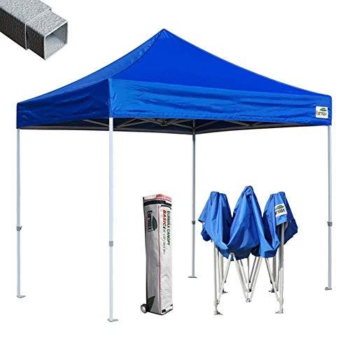 Eurmax 10 x10 Ez Pop-up Canopy Tent Commercial Instant Tent, Blue
