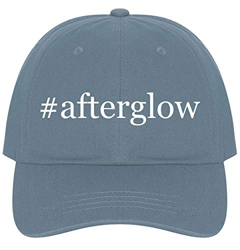 The Town Butler #Afterglow - A Nice Comfortable Adjustable Hashtag Dad Hat Cap, Light Blue, One Size