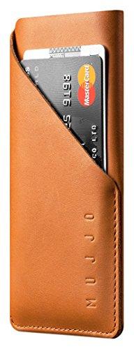 Mujjo mujjo-sl-102-tn Geldbörse Leder Sleeve für iPhone 7-Tan