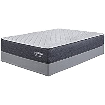 Ashley Furniture Signature Design - Sierra Sleep - Limited Edition Firm Mattress - Traditional Inner Spring Queen Size Mattress - White