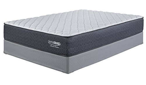 Ashley Furniture Signature Design - Sierra Sleep - Limited Edition Firm Mattress - Traditional Inner Spring Queen Size Mattress - White