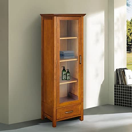 Amazon.com: Chamberlain Linen Tower Storage Cabinet: Home & Kitchen