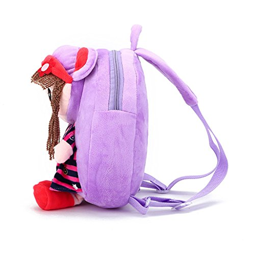 Cartoon Baby Child Red Cute Shoulder Dabixx Backpack Bag Toddler Girls Kids Schoolbag Purpke Gift qTR4HpwB