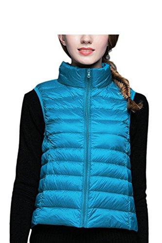 クランシー親パンツ女性の冬のyacunノースリーブジレベストスリムジャケットコートがよい