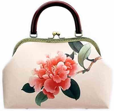 624096f69a Vintaget Handbags for Women,Chinese Style Velvet Shoulder Bags, Classical Crossbody  Bags