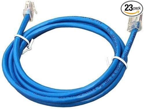 Pack of 23 pcs 14 CAT5E Patchcord for Copper UTP Wire Morris 88320