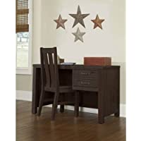 NE Kids Highlands Writing Desk in Espresso