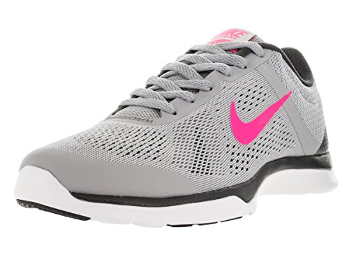 Nike Womens In Season TR 4 Cross Trainer Running Shoe Wolf Grey/Anthracite/Stealth/Hyper Pink ALRMH