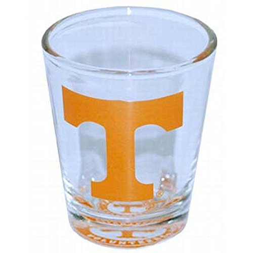 Jenkins Enterprises Tennessee Volunteers Shot Glass with Team Logo at The Bottom of - Team Glass Logo Shot