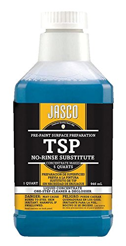 Klean-Strip GIDDS-881056 Jasco TSP No Rinse Substitute Cleaner Quart (Best Liquid Sandpaper Deglosser)