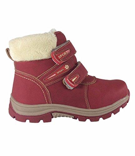 Youth Trekking Stiefel Klettern Snow Sport Rot