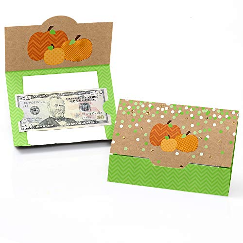 - Pumpkin Patch - Fall & Thanksgiving Party Money and Gift Card Holders - Set of 8