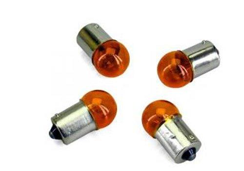 Ampoule Divers pour cc de a 287 etat Neuf 4 ampoules de clignotants orange 12V 10W BA15S plot non d/écal/é