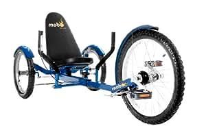 Mobo Cruiser Triton Pro Ultimate Three Wheeled Cruiser, Blue, 20-Inch