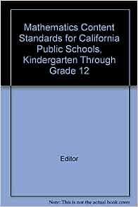 41Fx7vlGk7L. SY291 BO1,204,203,200 QL40  - California Kindergarten Standards