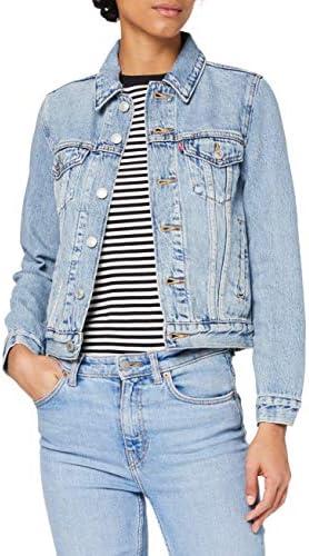 PLUS SIZE Donna Light Blue Giacca Di Jeans Maniche Lunghe 14 16 18 20 22